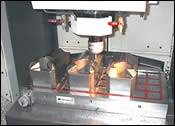 Wire EDM is routinely used