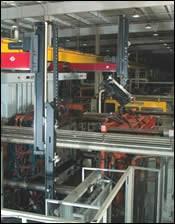 Wittmann's largest structural-foam robot system
