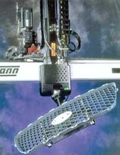 Wittmann's three-axis linear traversing robot
