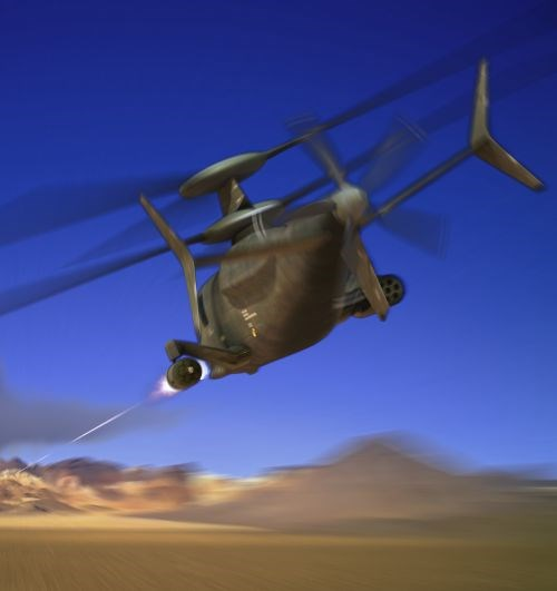SB>1 Defiant will use Sikorsky X2 helicopter technology