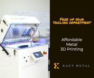 Xact Metal Affordable 3D Printing