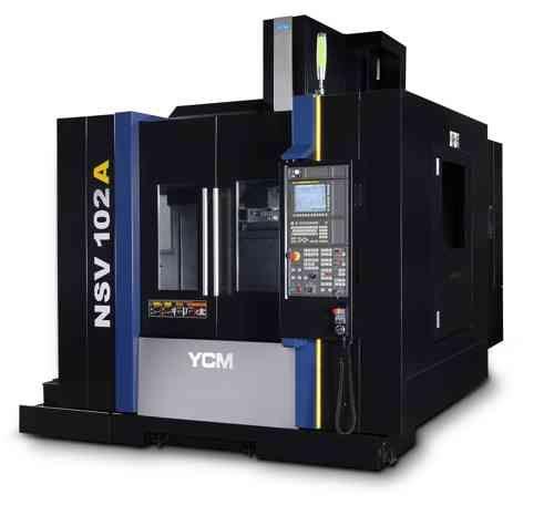 YCM Automation presenta el centro de mecanizado vertical NSV