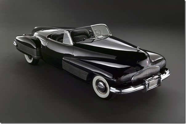 1938 Buick Y Job, penned by famed designer Harley Earl, is known today as the first concept car ever created.