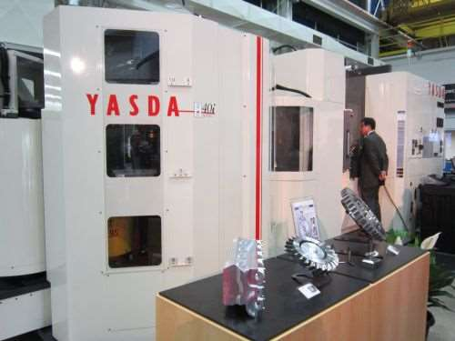 Yasda H40i PC24 five-axis high-precision machining center