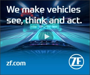 ZF makes vehicles see, think and act.