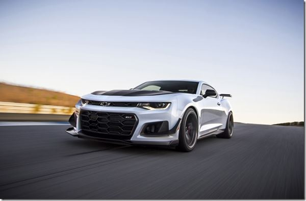 Is the 2019 Camaro ZL1 1LE a Transformer? image