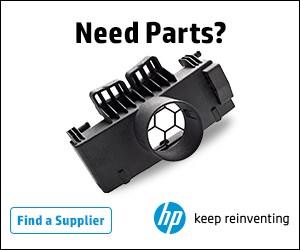 HP 3D-printed parts