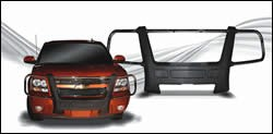 A brush grille guard