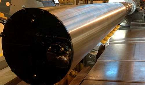the world's largest anti-vibration boring bar