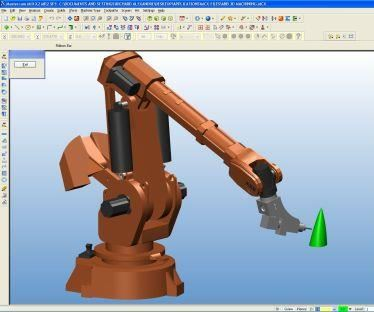 Robotmaster off-line programming of robots in CAM