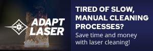 Save time and money with laser cleaning!