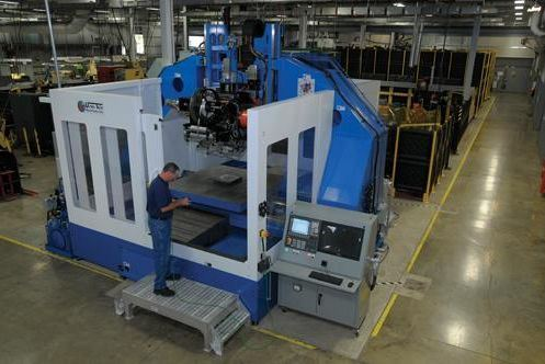 The largest ultrasonic additive manufacturing machine has a work envelope of 6 by 6 by 3 feet. Developed by Fabrisonic, the machine is being built by Ultra Tech Machinery, another Ohio company.