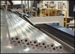 Near-net-shape aluminum extrusions