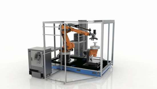 eight axis robotic system