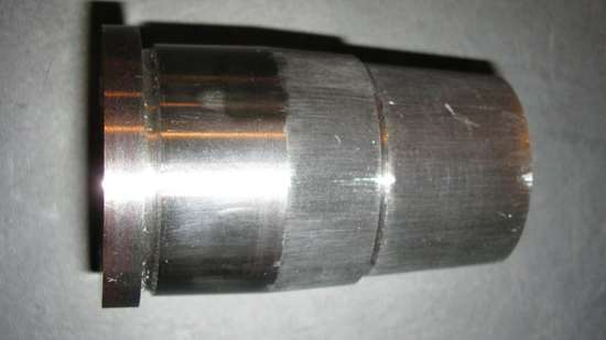 Composite core after machining