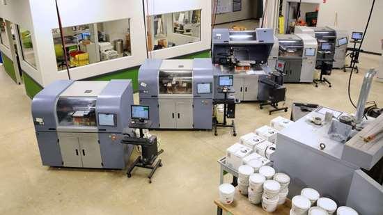 ExOne Production Service Center