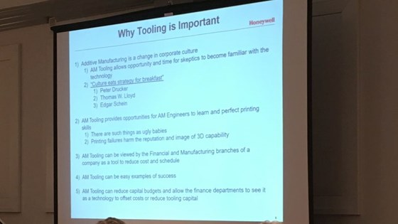 Why tooling is important slide