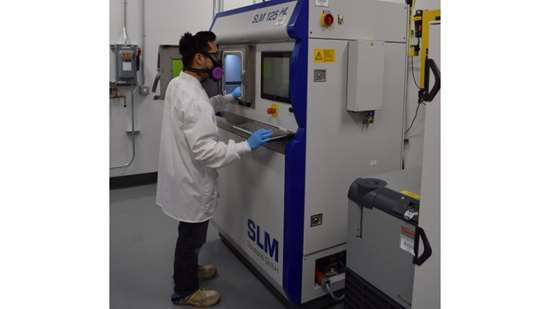 Additive manufacturing employee