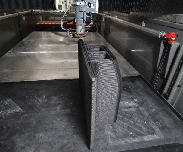 Big Area Additive Manufacturing machine