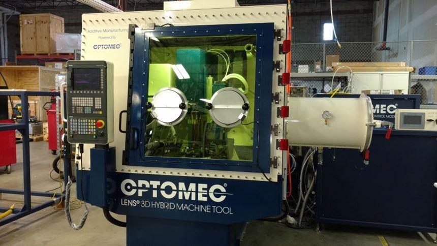 Optomec LENS machine tool