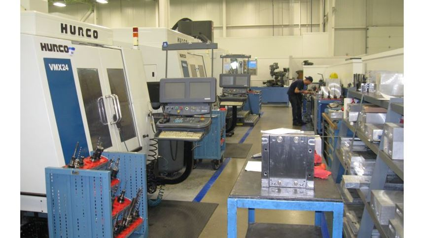 In-house machining centers at PTI