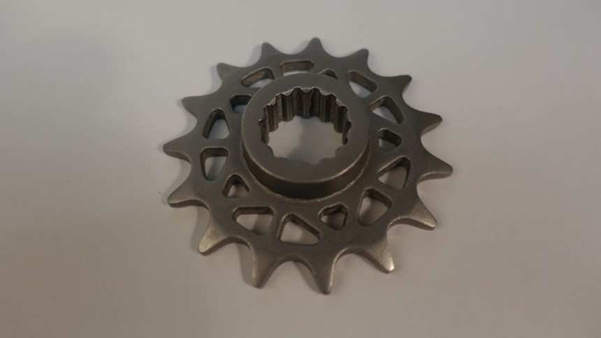 3D-printed drive sprocket