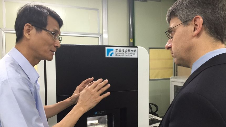 ITRI Additive Manufacturing & Laser Application Center Director Jibin Horng, Ph.D., discusses his facility's development of additive manufacturing equipment in Taiwan.