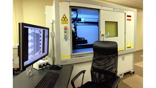 Nikon Metrology X-ray CT system