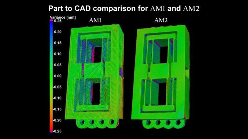 Part-to-CAD comparison