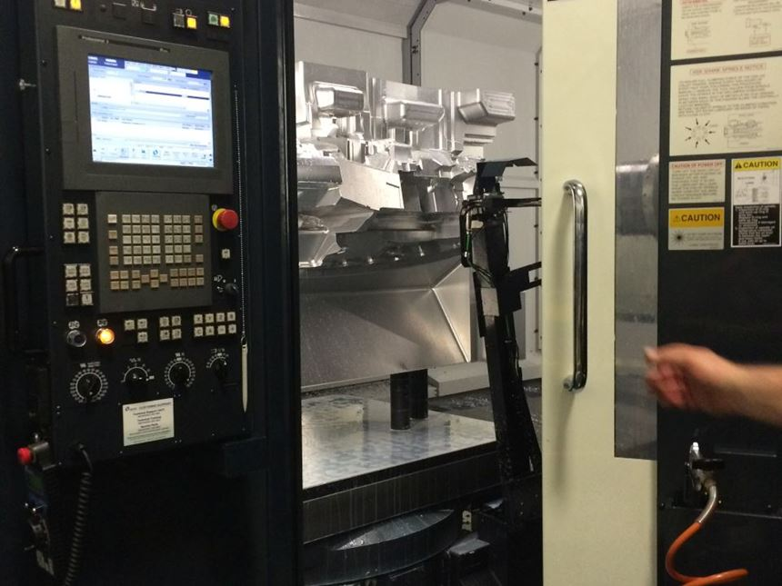 six axis makino machines