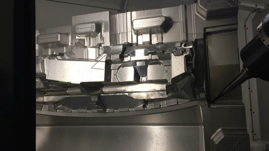 six axis makino machine