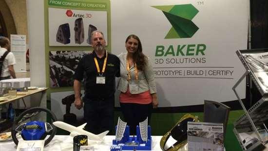 Mike Misener and Rachel Burke, Baker 3D Solutions