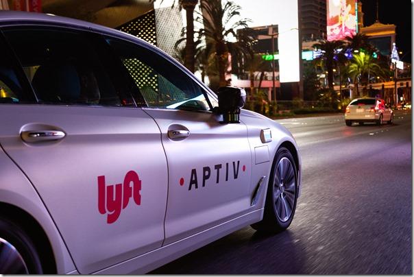 Aptiv-Lyft Vehicle Autonomous Technology - Las Vegas