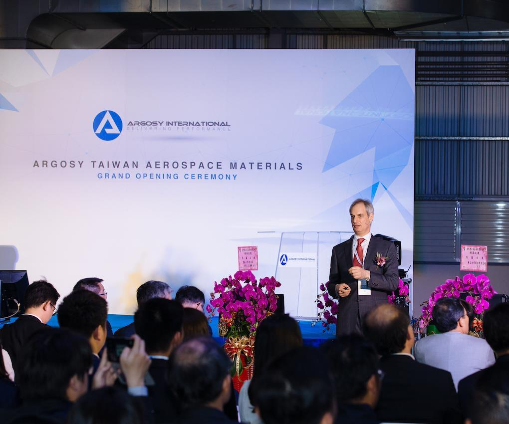 Paul Marks, CEO of Argosy International Inc.
