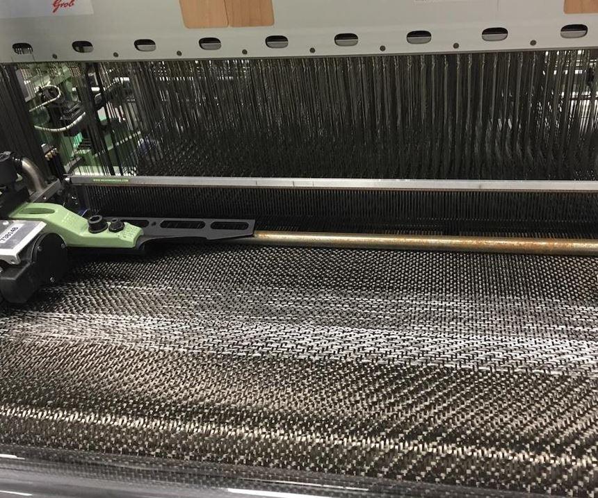 weaving machine at the AMRC Composite Centre