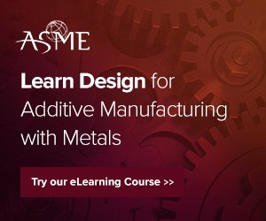 ASME Design for Additive Manufacturing with Metals