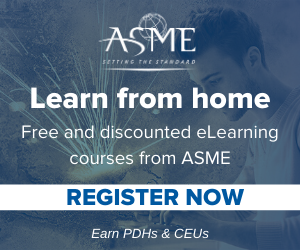 Learn from home with ASME