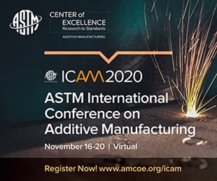 ICAM 2020 Nov 16-20, virtual conference on AM