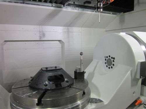 Okuma 5 axis auto tuning system