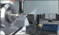 Bar fed machining