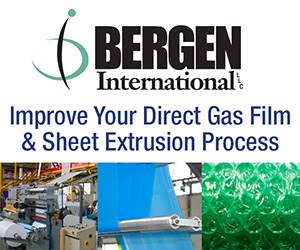 CFAs for Direct Gas Film & Sheet Extrusion