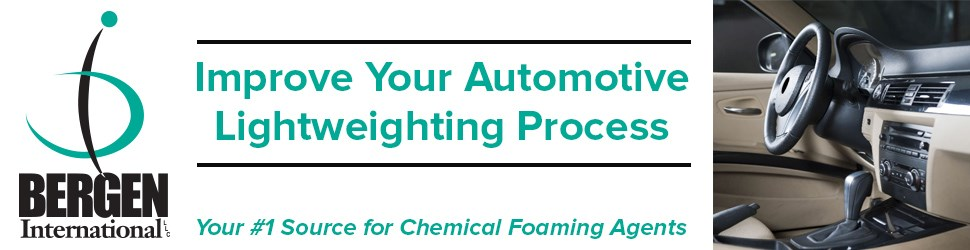 Chemical Foaming Agents automotive lightweighting