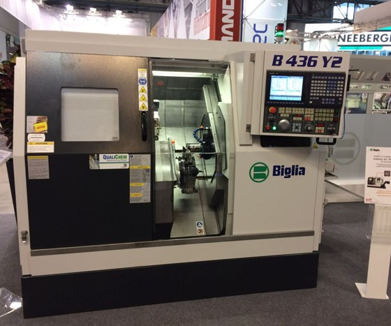 CNC turning centers from Biglia
