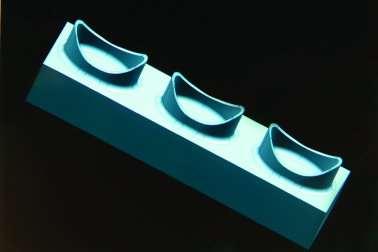 Solid model of electrode part