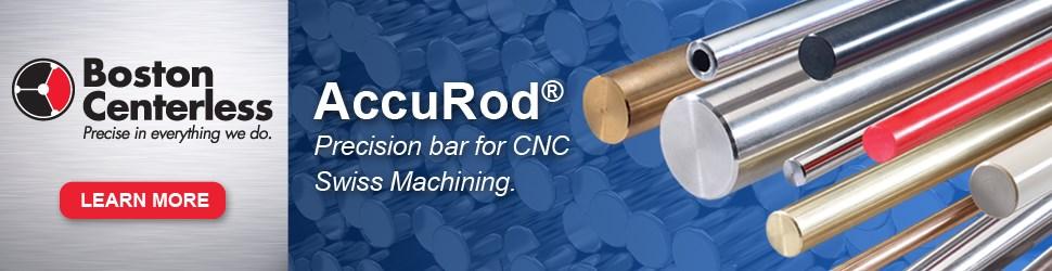 Boston Centerless AccuRod precision bar