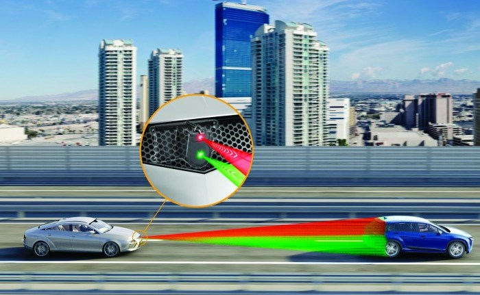Conti is developing a solid-state LiDAR system that provides 3D information.