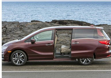 Honda Recalls Odyssey Minivans to Fix Faulty Door Latch