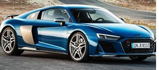 Audi R8 Gets New Look, More Power