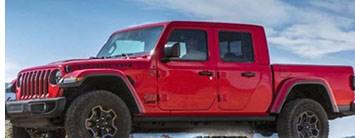 Jeep Gladiator Pickup Breaks Cover