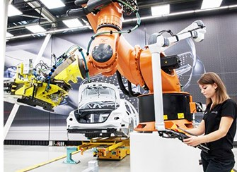 "Mercedes Constructing ""Factory of the Future"" in Germany"